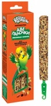 Веселый попугай 70 гр./Две палочки любимые семена для волнистых попугайчиков