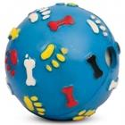 Triol/Игрушка  для собак Мяч с лапкамии косточками со звуком/J-15-210