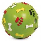 Triol/Игрушка  для собак Мяч с лапкамии косточками со звуком/J-16-380