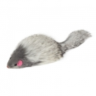 Triol/Игрушка для кошек Мышь серая с пищалклй набор24/SQ3