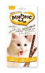 Мнямс 50 гр./10*5 гр./Лакомые палочки для кошек цыпленок, печень