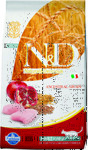 Farmina N&D Low Grain Cat Chicken & Pomegranate 300 гр./Фармина сухой корм для кошек Курица с гранатом