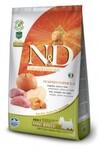 Farmina N&D Dog GF Pumpkin Boar & Apple Adult Mini  2,5 кг./Фармина сухой корм для собак Кабан с яблоком и тыквой мелк породы