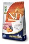 Farmina N&D Dog GF Pumpkin Lamb & Blueberry Adult Mini  800 гр../Фармина сухой корм для собак Ягненок с черникой и тыквой мелк породы