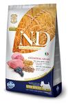 Farmina N&D Low Grain Dog Lamb & Blueberry Puppy Mini 800 гр./Фармина сухой корм щенков Спельта, овес, ягненок, черника