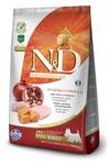 Farmina  N&D Dog GF Pumpkin Chicken & Pomegranate Adult Mini 2,5 кг./Фармина сухой корм для собак Курица с гранатом и тыквой д/собак мел пород
