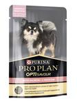 Pro Plan Adult 100 гр./Проплан консервы для собак мелких и карликовых пород, с чувствительным пищеварением, с лососем