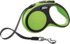 Flexi Comfort/Поводок-рулетка  (до 15 кг) 5 м  зеленая