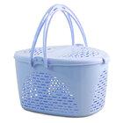 TRIOL /Переноска пластик для кош овальн  (голубая)/31831025