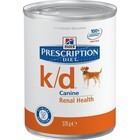 Hill's Prescription Diet  k/d  Canine Chicken & Vegetable Stew 370 гр./Хиллс Диета консервы рагу для собак K/D лечение заболеваний почек