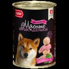Зоогурман 410 гр./Консервы для собак Мясные фрикадельки с ягненком