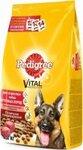 Pedigree 2,2 кг./Педигри сухой корм для взрослых собак крупных пород, с говядиной