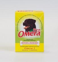 Омега Нео//витамины для собак с протеином и карнитином 90 таб.