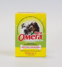 Омега Нео//витамины для щенков с карнитином 60 таб.