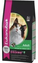 Eukanuba Cat Adult 400г//Эукануба сухой корм для кошек склонных к образованию волосяных комков в желудке
