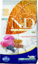 Farmina  N&D Low Grain Cat Lamb & Blueberry 10 кг./Фармина сухой корм для кошек Ягенок с черникой