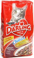 Darling 2 кг./Дарлинг сухой корм для кошек с мясом и овощами
