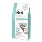 Brit Veterinary Diet Cat Grain free Struvite 400 гр../Брит для кошек Беззерновая диета при струвитном типе МКБ. Курица и горох