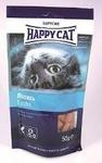 Happy Cat 50 гр./Хеппи Кет Лакомые подушечки для кошек с лососем