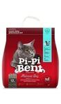 Pi-Pi-Bent Морской бриз 5 кг./Наполнитель комкующийся для кошек