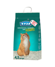 Кузя 4,5 л./Наполнитель для кошек впитывающий