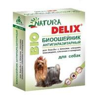 Natura Delix BIO//Деликс Био биоошейник антипаразитарный для собак 65 см