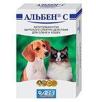 Альбен С//антигельминтик для собак и кошек 6 таб