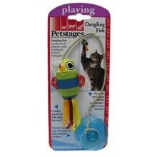 """Petstages/ Игрушка для кошек """"Рыбка на присоске""""/381YEX"""