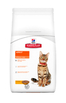 Hills Science Plan Feline Adult Optimal Care Chicken 400 гр./Хиллс сухой корм для взрослых кошек с курицей