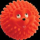 Зооник 16428/Игрушка для собак Мяч-ежик 9.5см
