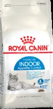 Royal Canin Indoor Appetite Control 400 гр./Роял канин сухой корм для кошек живущих в помещении и склонных к перееданию