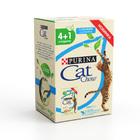 Cat Chow 5*85 гр./Кет Чау паучи для взрослых  Лосось в желе