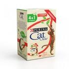 Cat Chow 5*85 гр./Кет Чау паучи для взрослых  Говядина в желе