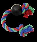 Зооник 16475/Мяч резиновый на веревке
