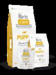 Brit  Care Puppy All Breed 1 кг.Брит Каре  сухой корм для щенков и молодых собак всех пород, с ягненком и рисом