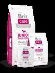 Brit  Care Junior Large Breed  1 кг./Брит Каре сухой корм для щенков и молодых собак крупных пород, с ягненком и рисом