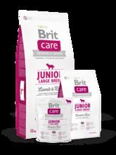 Brit  Care Junior Large Breed  3 кг./Брит Каре сухой корм для щенков и молодых собак крупных пород, с ягненком и рисом