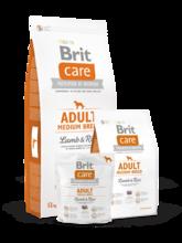 Brit  Care Adult Medium Breed 1 кг./Брит Каре сухой кормдля взрослых собак средних пород, с ягненком и рисом