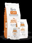 Brit  Care Adult Medium Breed 3 кг./Брит Каре сухой кормдля взрослых собак средних пород, с ягненком и рисом