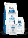Brit  Care Adult Large Breed  3кг./Брит Каре сухой корм для взрослых собак крупных пород, с ягненком и рисом