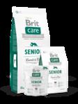 Brit  Care Senior All Breed 1 кг./Брит Каре сухой корм для пожилых собак всех пород, с ягненком и рисом
