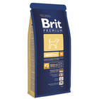 Brit Premium Adult M 15кг./Брит сухой корм для собак средних пород