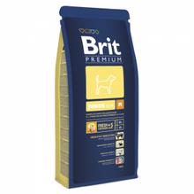 Brit premium Junior M 15 кг./Брит сухой корм для молодых собак средних пород
