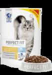 Perfect Fit Sensitive 650 гр./Перфект Фит сухой корм для кошек с чувствительным пищеварением с лососем