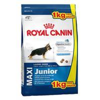 Royal Canin Maxi Junior 3+1 кг./Роял канин сухой корм для щенков крупных размеров с 2 до 15 месяцев