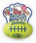 Kong /Игрушка для собак Air Dog Squeaker Football Мяч-регби малый для собак 9 см