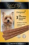 Edel Dog//Эдель Дог лакомство колбаски для собак курица,индейка,дрожжи 1*3