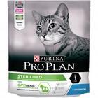 Pro Plan Sterilised 200 гр./Проплан сухой корм для поддержания здоровья стерилизованных кошек с кроликом