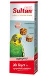Sultan 3 шт./Султан Минеральный камень с морской капустой, фруктами и орехами для попугаев
