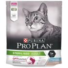 Pro Plan Sterilised  400 гр./Проплан сухой корм для для стерилизованных кошек с треской и форелью